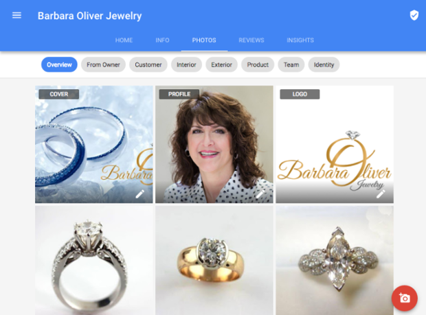 Barbara Oliver Jewelry Business Photos