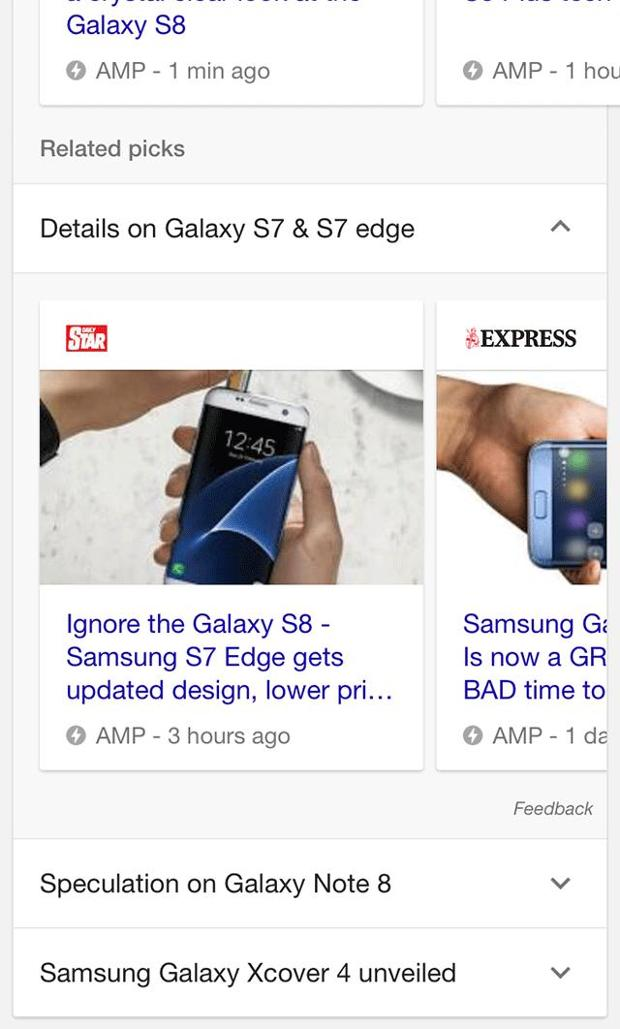 google top stories related picks expanded
