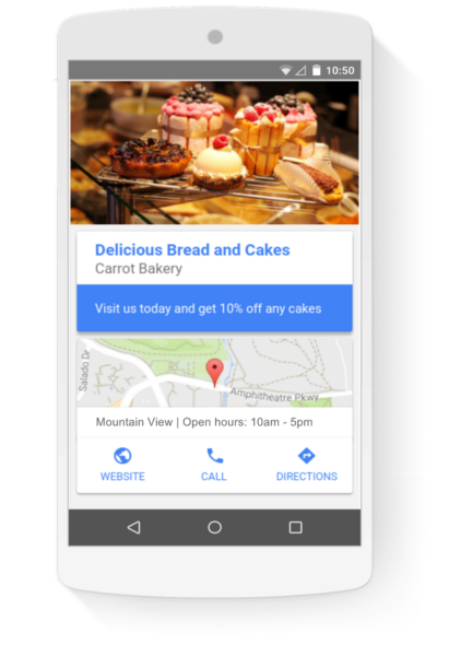 location extensions display ads